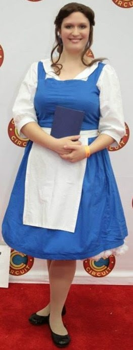 Belle's Blue Village Dress Costume Notes by The Geeky Seamstress