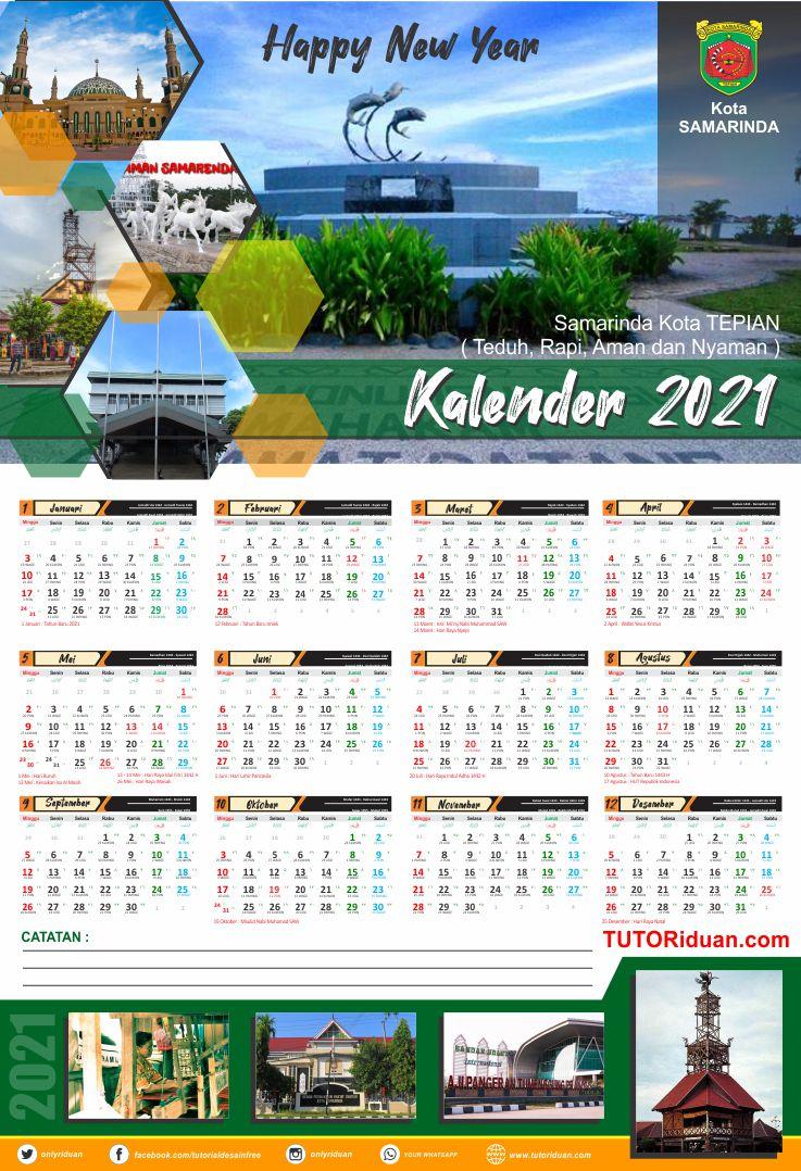 Download 27+ Tahun 2021 Template Desain Kalender 2021