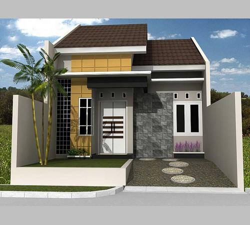 Desain Rumah Minimalis Sederhana 1 2 Lantai 2 3 Kamar Type 21 36 45