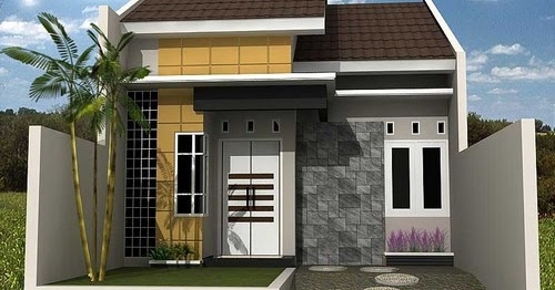 Aksesoris 20+ Desain Rumah Minimalis Sederhana Type 21