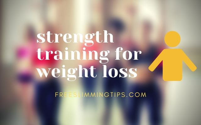 Strength Weight Training/Lifting for Weight Loss