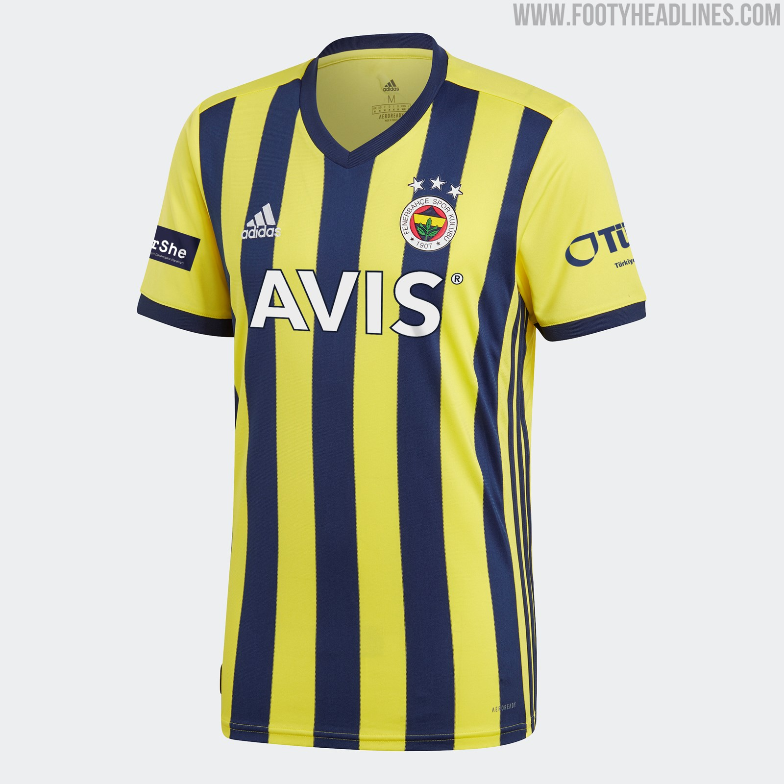 Fenerbahce 20-21 Home, Away & Third Kits Released - Footy ...