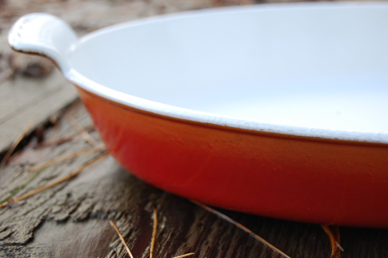 Secondhand Goods: Christmas Le Creuset gratin pan