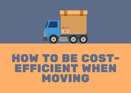 how to be cost-efficient when moving