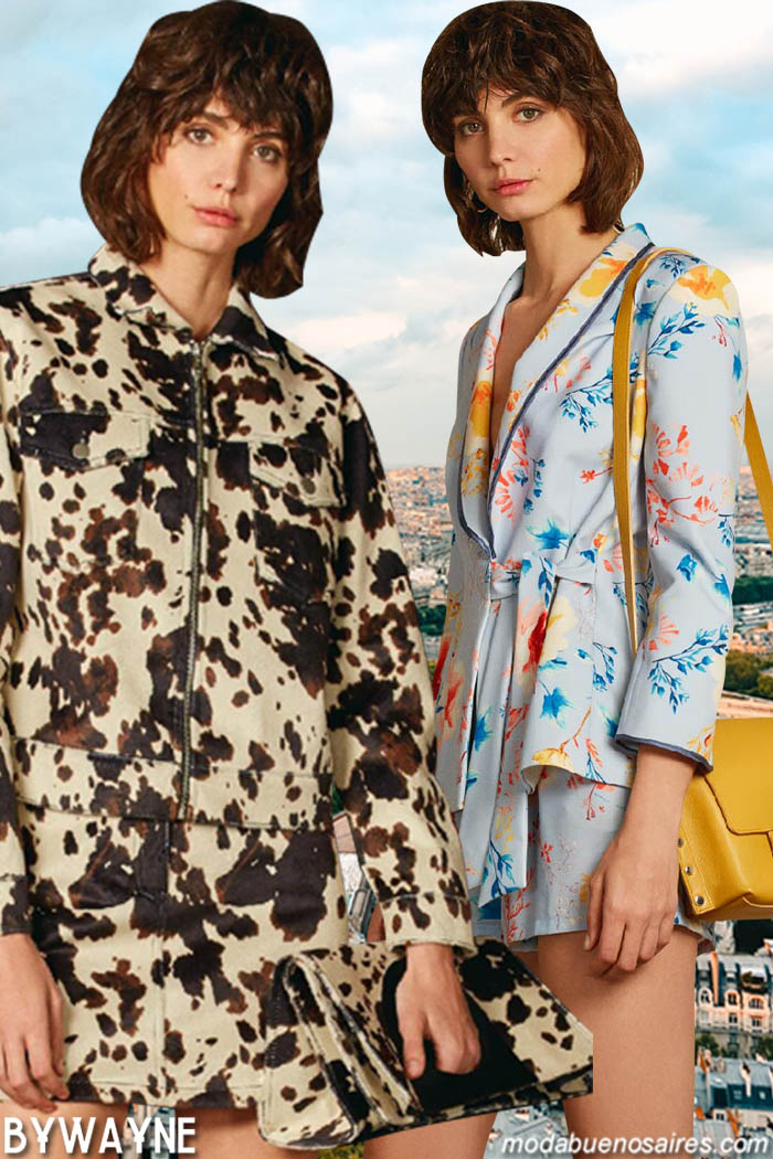 Moda estampas primavera verano 2020. Moda mujer primavera verano 2020 moda mujer.