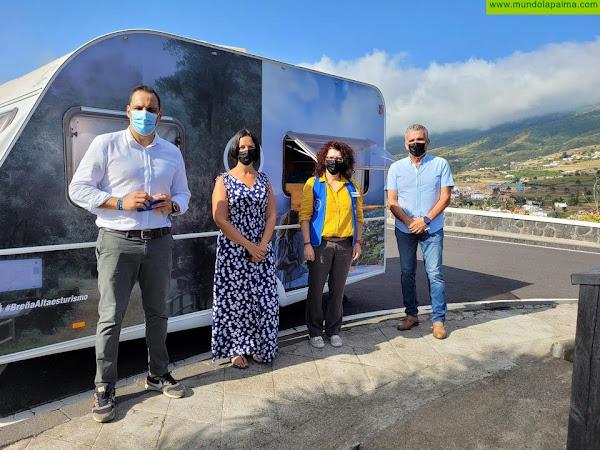 El Ayuntamiento de Breña Alta pone en marcha la Oficina Móvil de Información Turística