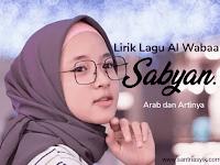 Lirik Lagu Al Wabaa Sabyan Arab Beserta Artinya lengkap - Download (Mp3)