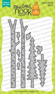 Forest Scene Builder Die Set by Newton's Nook Designs