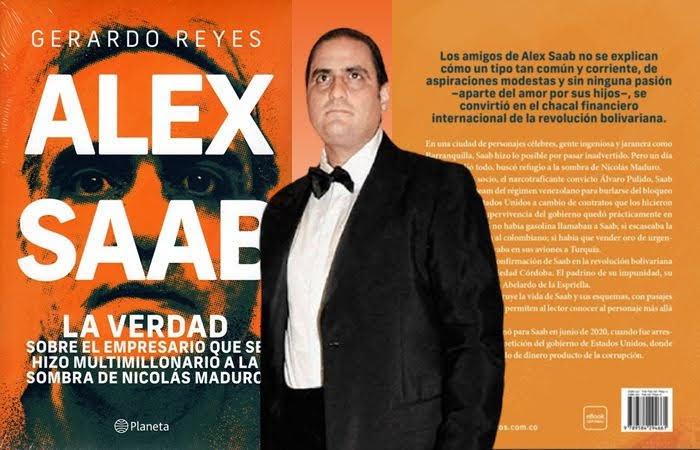 Libro relata el difícil pasado de Alex Saab antes de convertirse en un notorio empresario en Venezuela