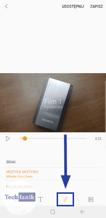 Jak dodać muzykę do klipu?
