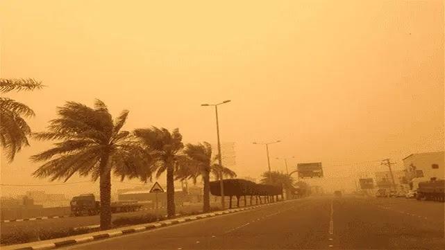 الرياح والغبار