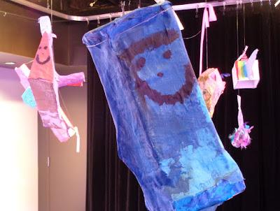 verna vogel art class exhibition