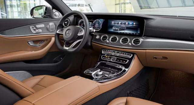 The 2017 Mercedes E-Class will steer itself up to 130 miles per hour interior