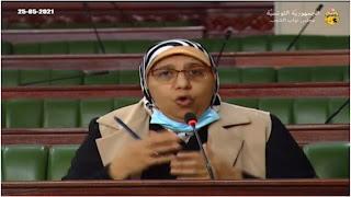 """يمينة الزغلامي : """" أحنا الي في الحكم """" هانا حطينا يدينا في الجمر """"من اجل شعب تونسي"""