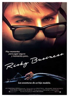 Risky Business, Tom Cruise,  Paul Brickman, Rebeca de Mornay