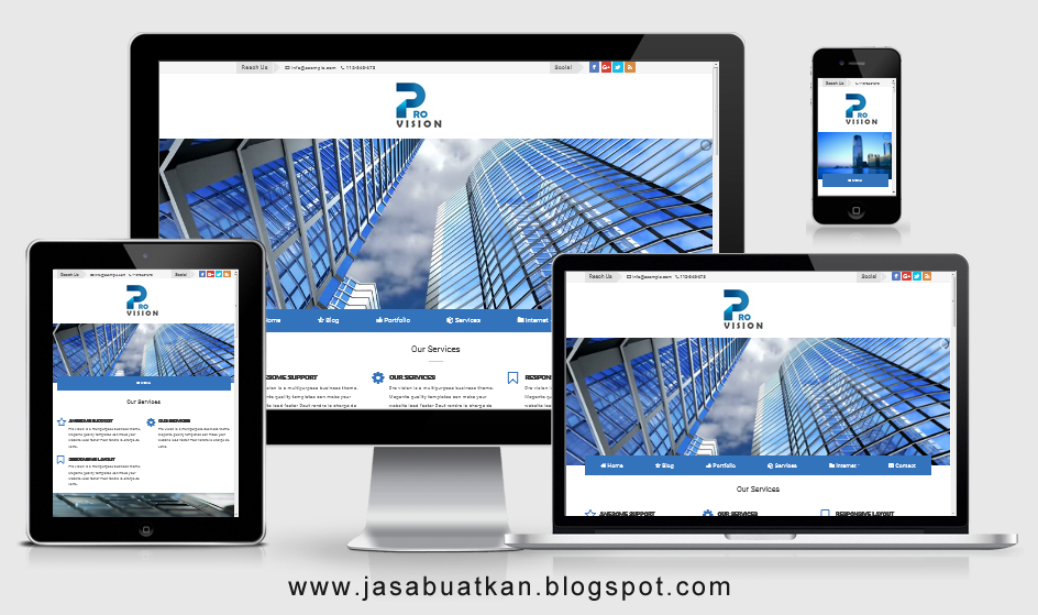 Jasa Landing Page Blogspot Murah 2020