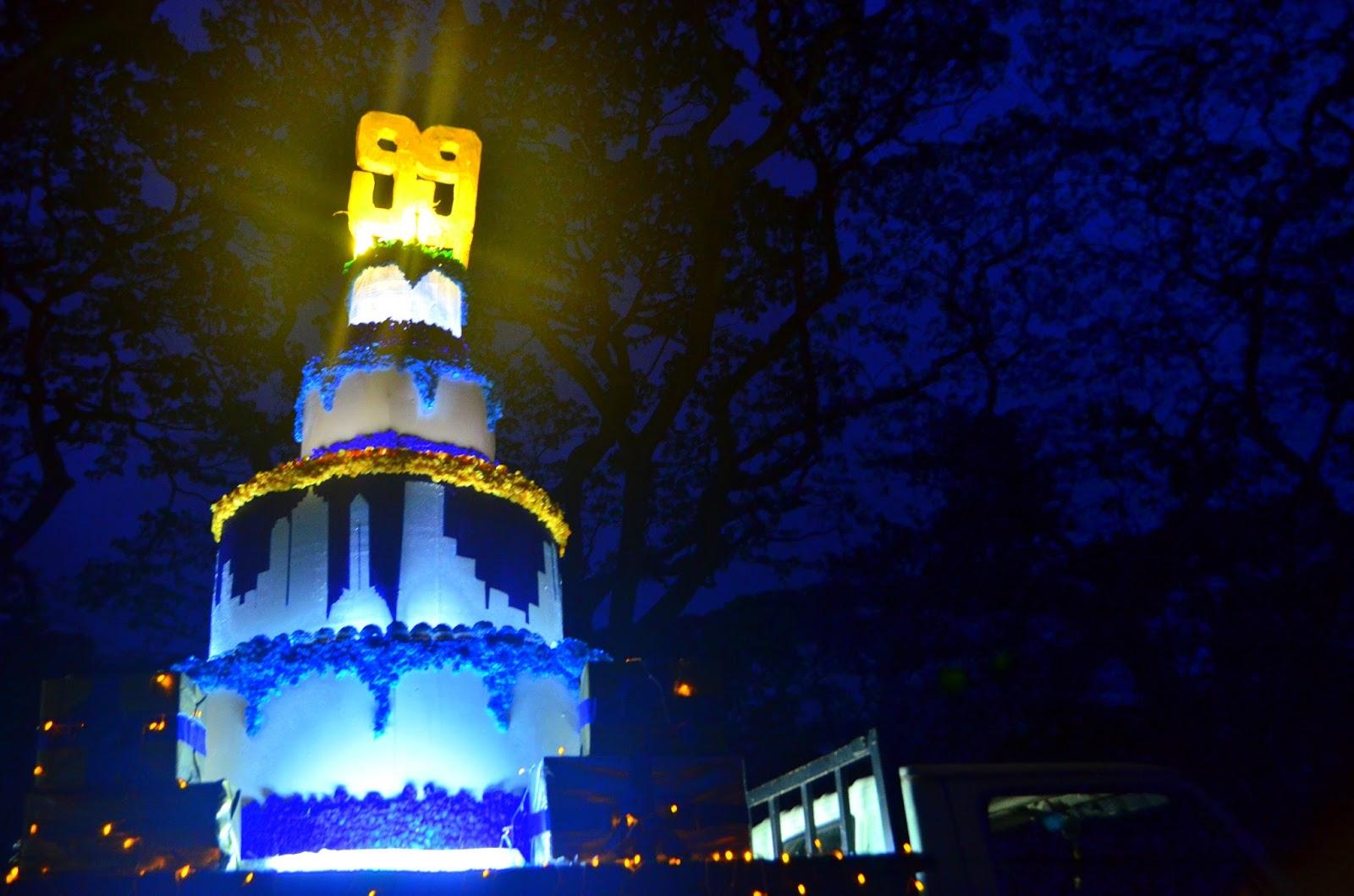 Lantern Parade 2015 float