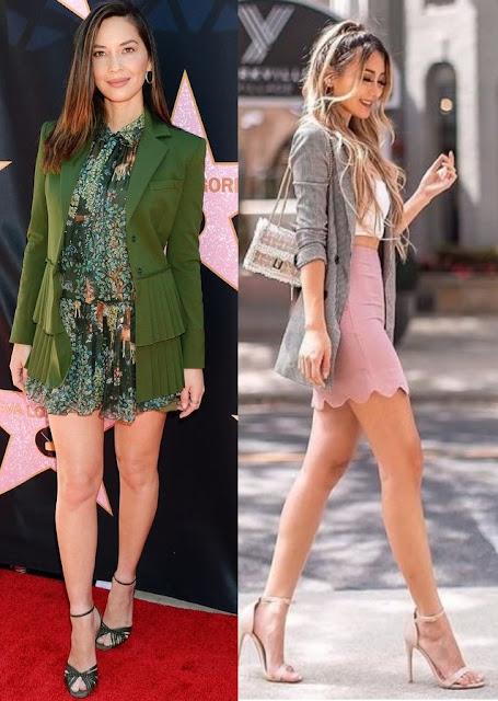 Guia de moda Como usar blazer parte 2, Olivia Munn, Kerina Wang