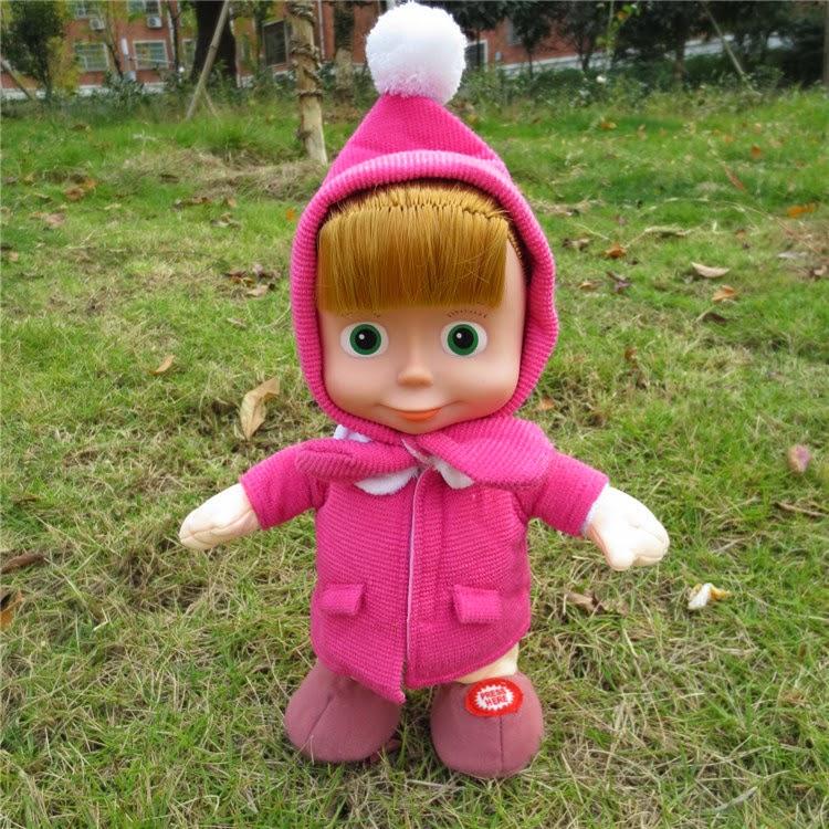 Gambar boneka masha lucu untuk anak