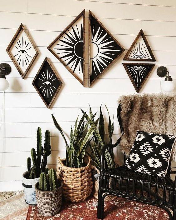 duvar dekorasyonu fikirleri