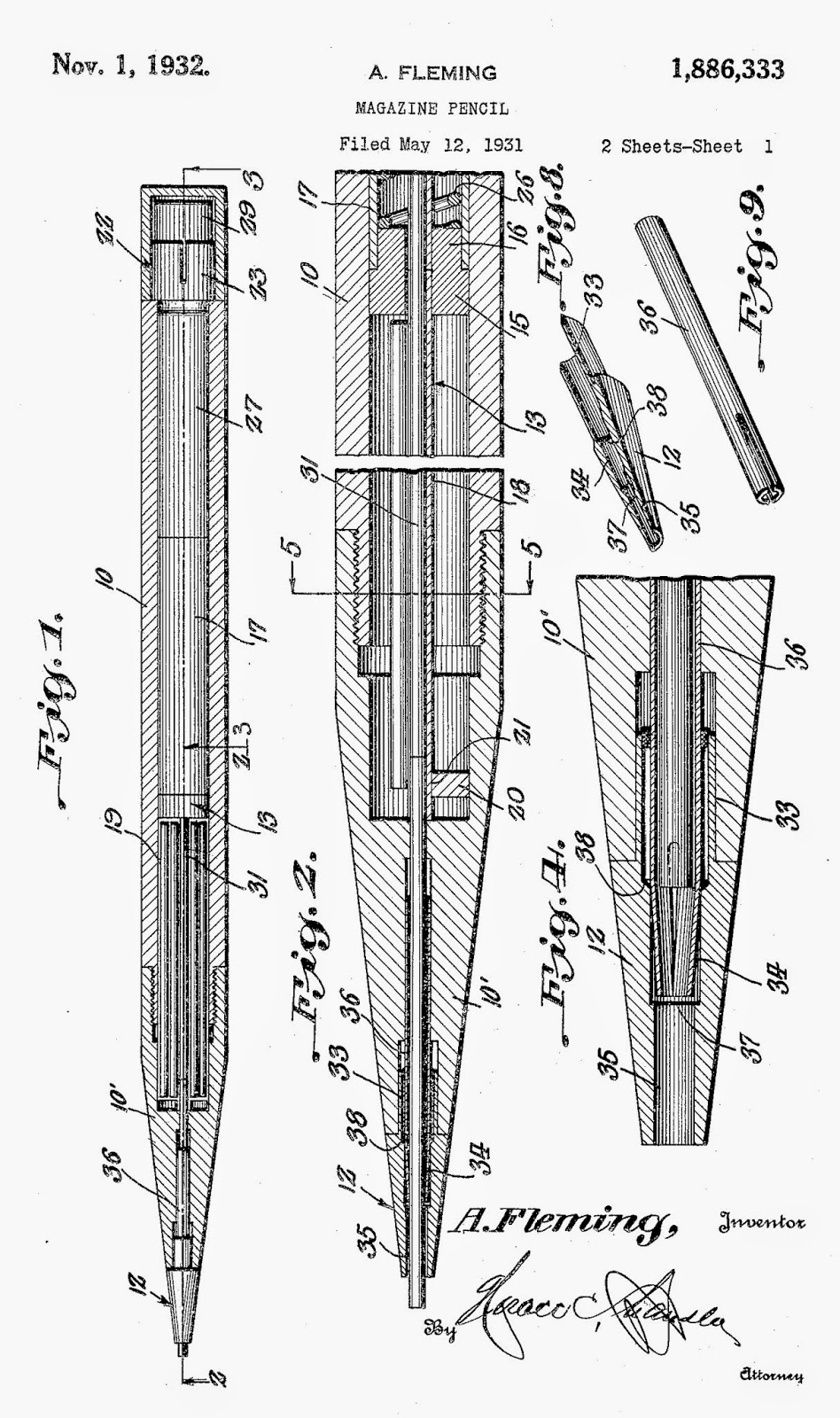 The Leadhead's Pencil Blog: The Patent Book Passes a Harsh