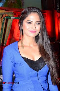 Actress Naina Ganguly Stills in Blue Dress at RGV Shiva to Vangaveeti Event  0017.JPG