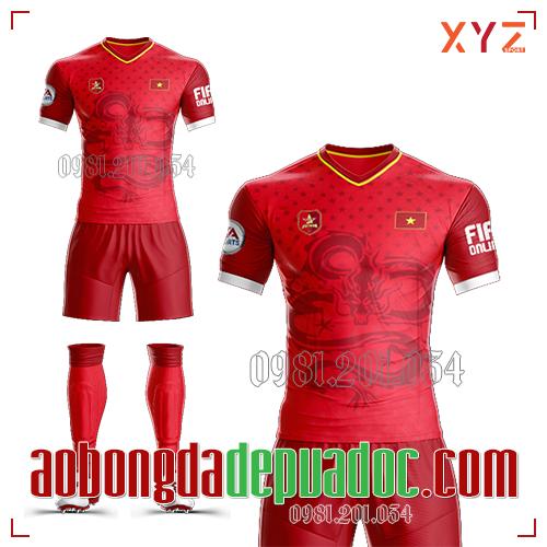 Áo Việt Nam FiFa 2019 Màu Đỏ