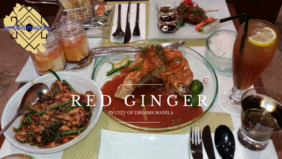 The classy Thai restaurant, Red Ginger in City of Dreams