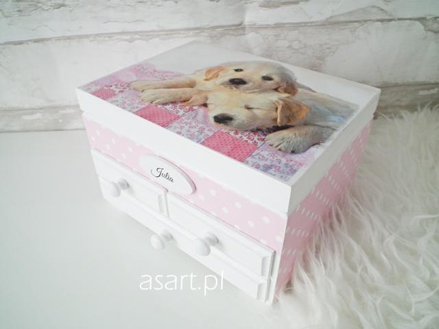 szkatułka dla dziewczynki