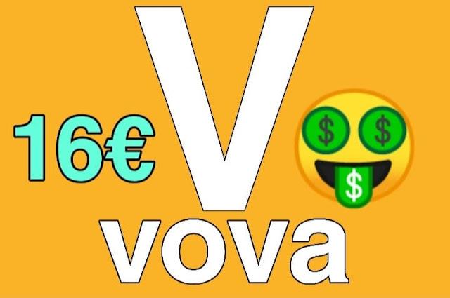 تطبيق VOVA للربح السهل و الحصول على منتجات مجانية