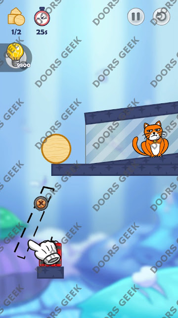 Hello Cats Level 132 Solution, Cheats, Walkthrough 3 Stars for Android and iOS