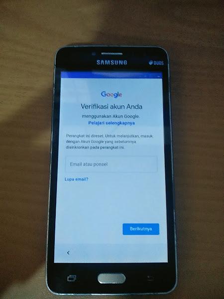 Cara ByPass FRP Google Akun Samsung J2 Prime