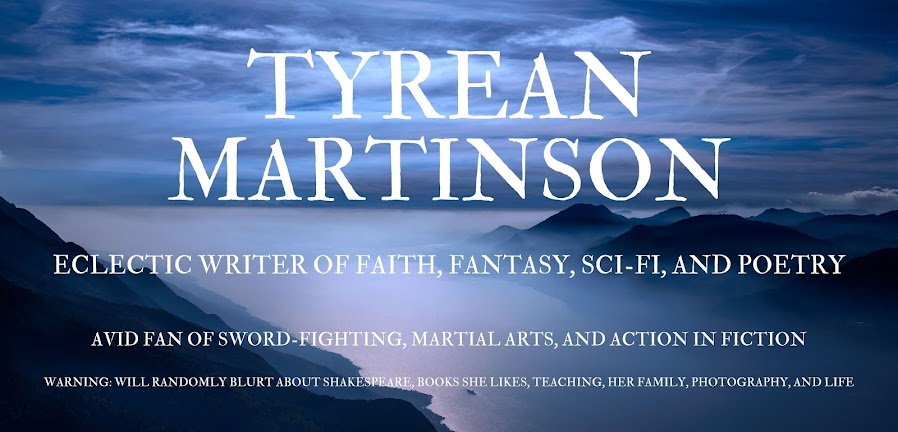 Tyrean Martinson - writer, daydreamer, teacher, believer.