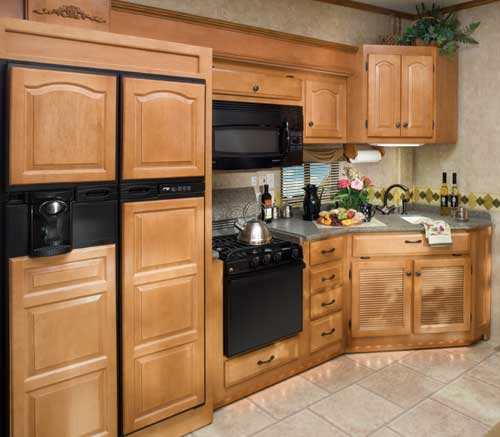Knotty Pine Cabinets: Installing Pine Kitchen Cabinets For Render An Organized