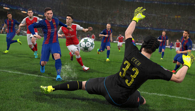PES 2017 New Gameplay Patch