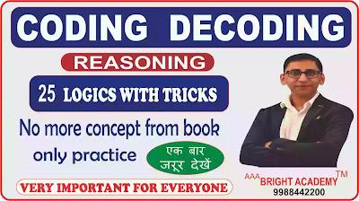 coding decoding reasoning class