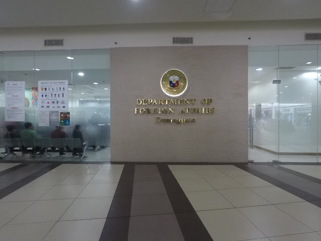 Dumaguete DFA Office in Robinsons