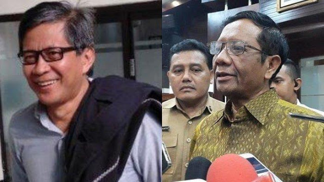 Rocky Gerung Kritisi Pernyataan-pernyataaan Mahfud MD di Media: Mahfud Lagi Nikmati Kamera Publik