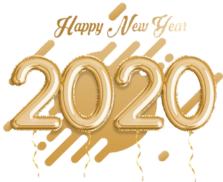 Happy New Year 2020 PNG High Quality Image