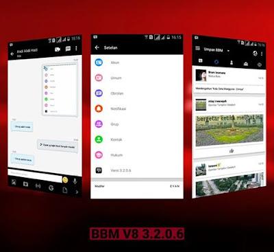 bbm mod terbaru 3.2.0.6 gratis