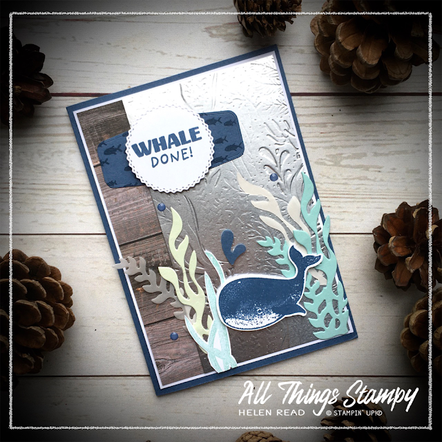 Whale of a Time stampin up allthingsstampy