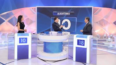 Márcia Dantas, Silvio e Nascimento (Crédito: Lourival Ribeiro/SBT)