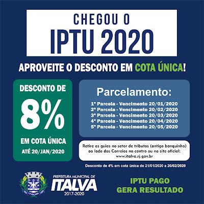 IPTU Italva