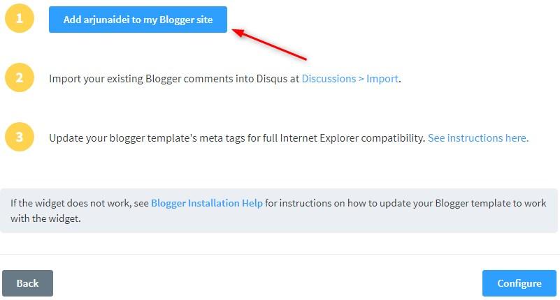 Cara Pasang Komentar Disqus di Blog