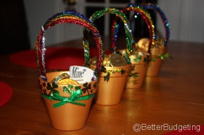 St. Patrick's Day Irish Pot of Gold - Frugal Crafts at BetterBudgeting