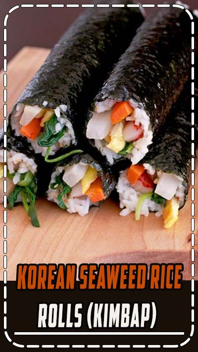 "Korean seaweed rice rolls (Kimbap) - ""Thou shall not judge others."" This is one valuable lesson I learned earlier in my life. Have you ever been surprised by someone who has an amazing talent that you never thought he/she would have? It came to a such surprise that you couldn't believe your eyes?"