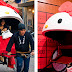 """Hello Kitty ahora adornará los Rickshaw, """"carruajes de mano"""" japoneses"""