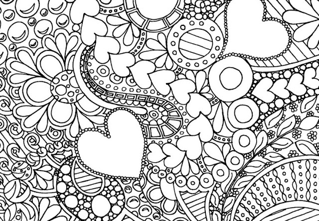 coloriage adulte amour
