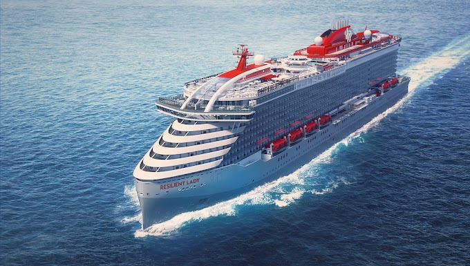 Resilient Lady - Virgin Voyages New Cruise Ship