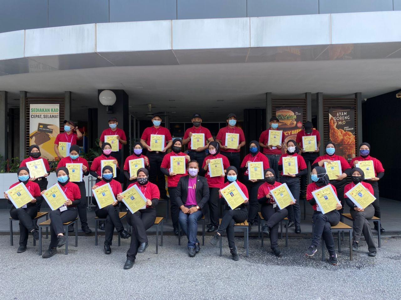 Peluang kerjaya di McDonald's Malaysia